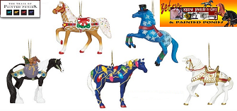 Painted Pony Ornaments 2015