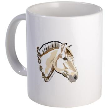 Equine gallery of gifts from betsy bauer and fjordpony fjord mug negle Gallery