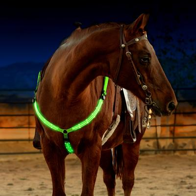 Green Breast Collar