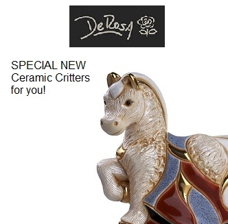 DeRosa Ceramic Figurines from Betsy