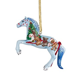 Ornaments of the Painted Ponies via fjordpony.com and Betsy